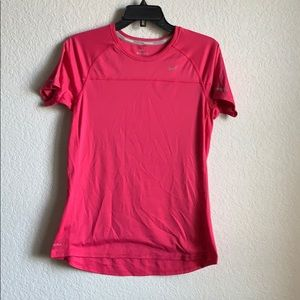 Nike Dri-fit miler running top women's size L